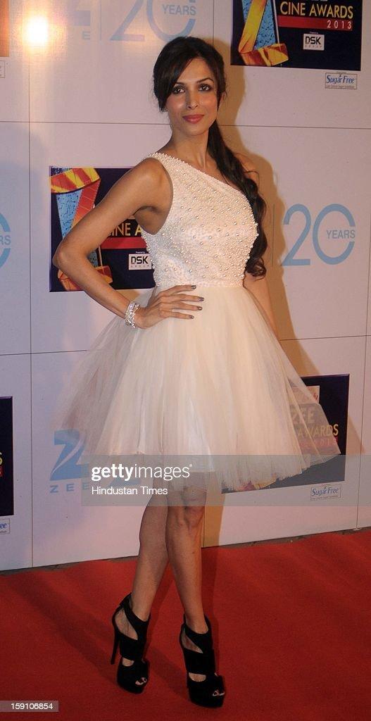 Indian bollywood actress Malaika Arora khan attending Zee Cine Awards 2013 at Yash Raj Studio on January 6, 2013 in Mumbai, India.