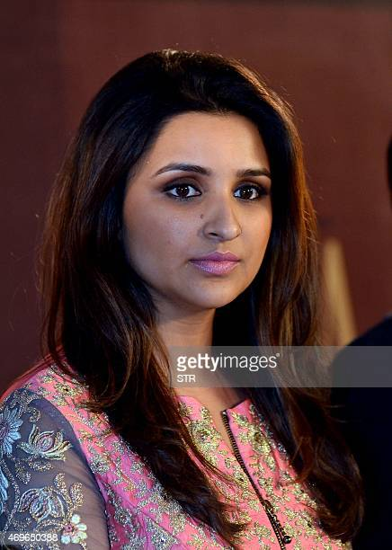 Indian Bollywood actress Parineeti Chopra unveils the new logo collections ad campaign of Siya a womencentric fashion lifestyle brand in Mumbai late...