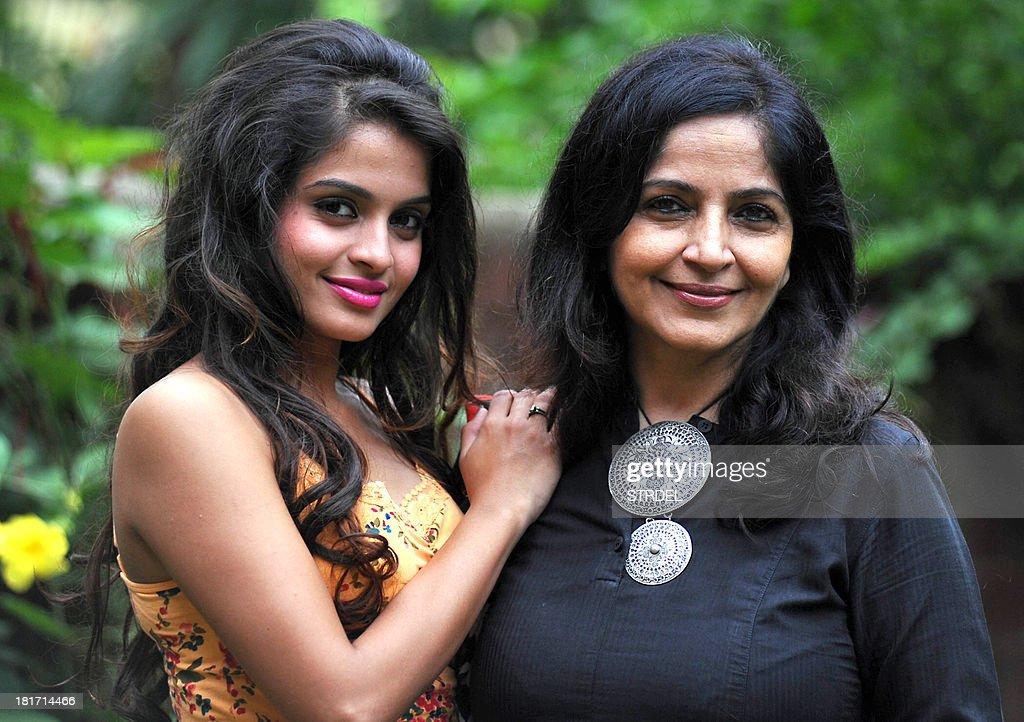 indian bollywood actress sheen shahabadi l poses with