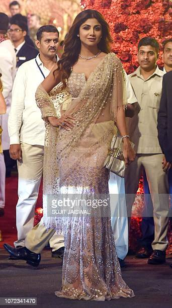 79 Wedding Of Bollywood Actress Shilpa Shetty Photos And Premium High Res Pictures Getty Images