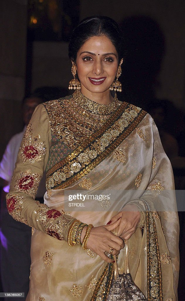 Indian Bollywood Actress Shree Devi Atte Pictures Getty Images