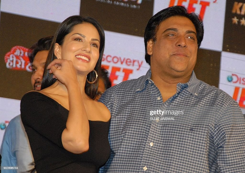 Indian Bollywood Actress Sunny Leone And Television And Film Actor