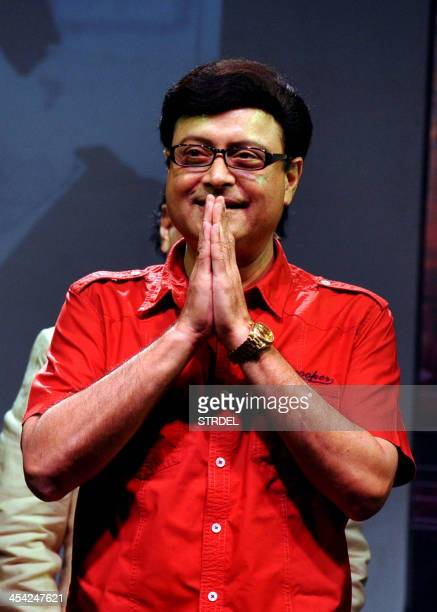 Indian Bollywood director Sachin Pilgaonkar attends an event paying homage to late industry personalities Jaikishan Shailendra Singh and Raj Kapoor...