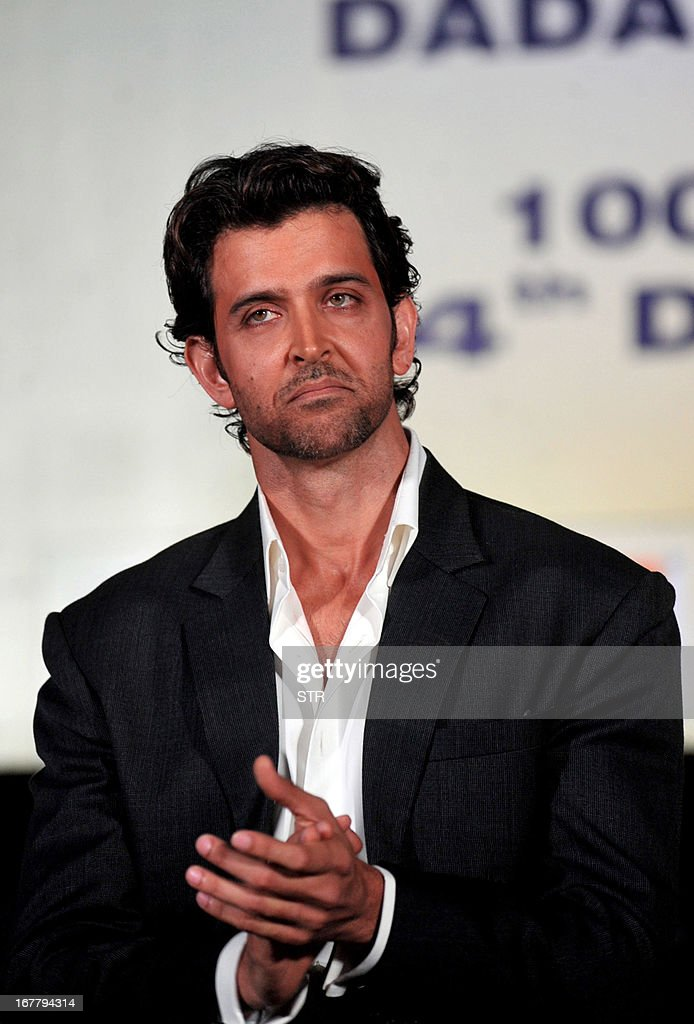Indian Bollywood Film Actor Hrithik Roshan Attends The Dadasaheb