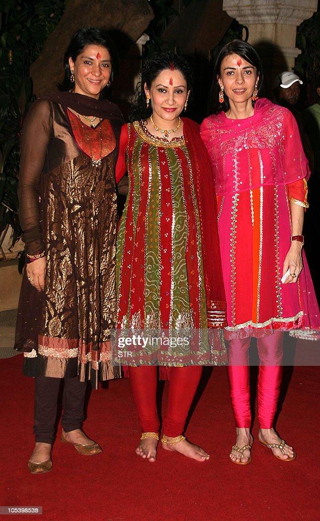 Indian Bollywood film actor Sanjay Dutt's wife Maanyataa ...