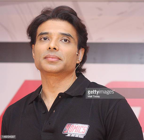 Indian Bollywood film actor Uday Chopra during the unveiling of Yomics at YFR Studio in Mumbai on July 24 2012