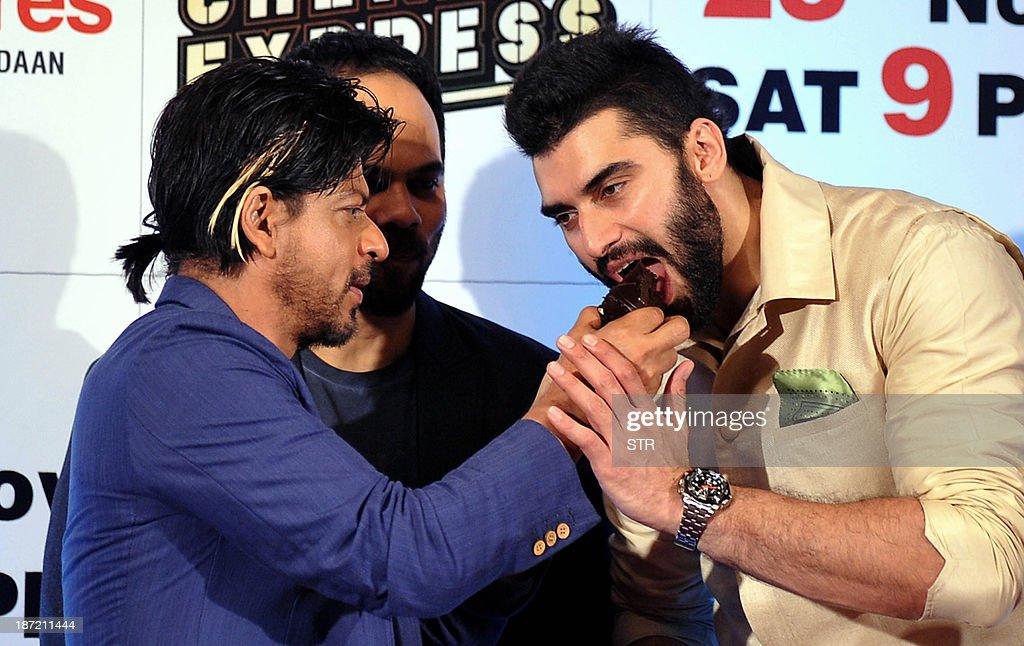 Nikitin Dheer And Shahrukh Khan