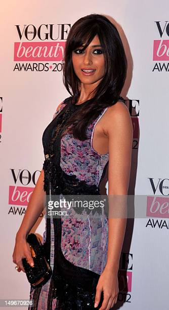 Indian Bollywood film actress Ileana D'Cruz poses during the 'Vogue beauty Awards 2012' in Mumbai on August 1 2012 AFP PHOTO