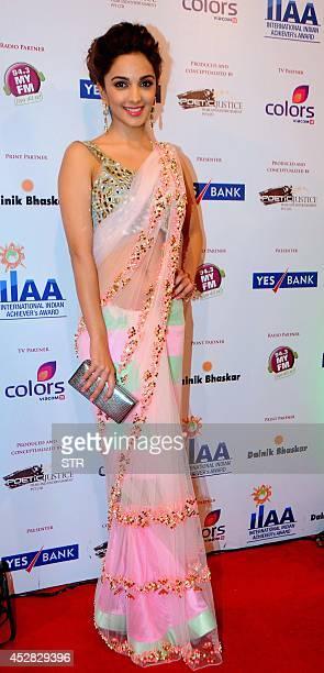 Indian Bollywood film actress Kiara Advani attends the 'IIAA Awards 2014' in Mumbai on July 27 2014 AFP PHOTO
