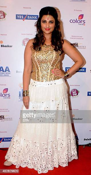 Indian Bollywood film actress Parineeti Chopra attends the 'IIAA Awards 2014' in Mumbai on July 27 2014 AFP PHOTO