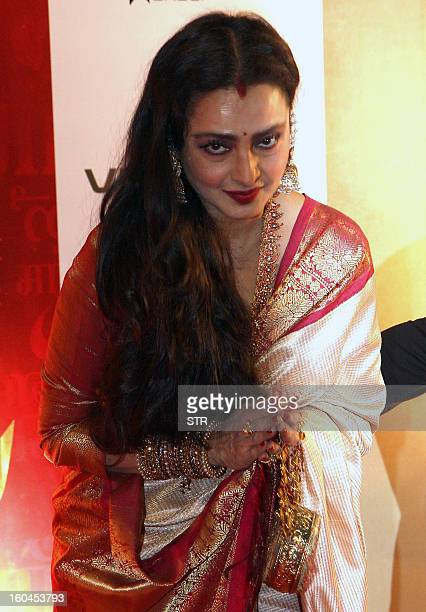 Worlds Best Bollywood Actress Rekha Stock Pictures, Photos, And Images - Getty Images-9016