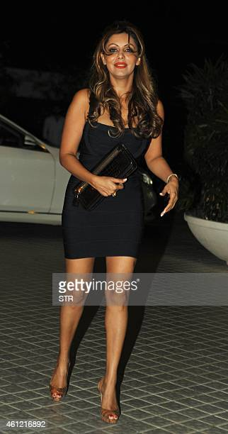 Indian Bollywood film producer Gauri Khan attends the 50th birthday party of Bollywood film director choreographer producer and actress Farah Khan at...