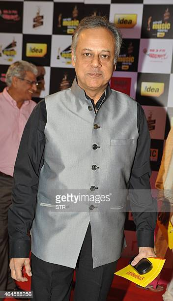 Indian Bollywood play back singer Shailendra Singh attends the 'Mirchi Music Awards 2015' ceremony in Mumbai on February 26 2015 AFP PHOTO