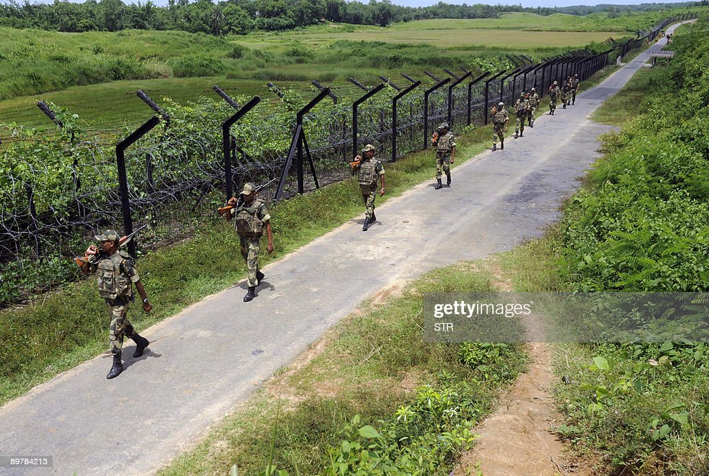 Indian Border Security Force (BSF) perso : News Photo