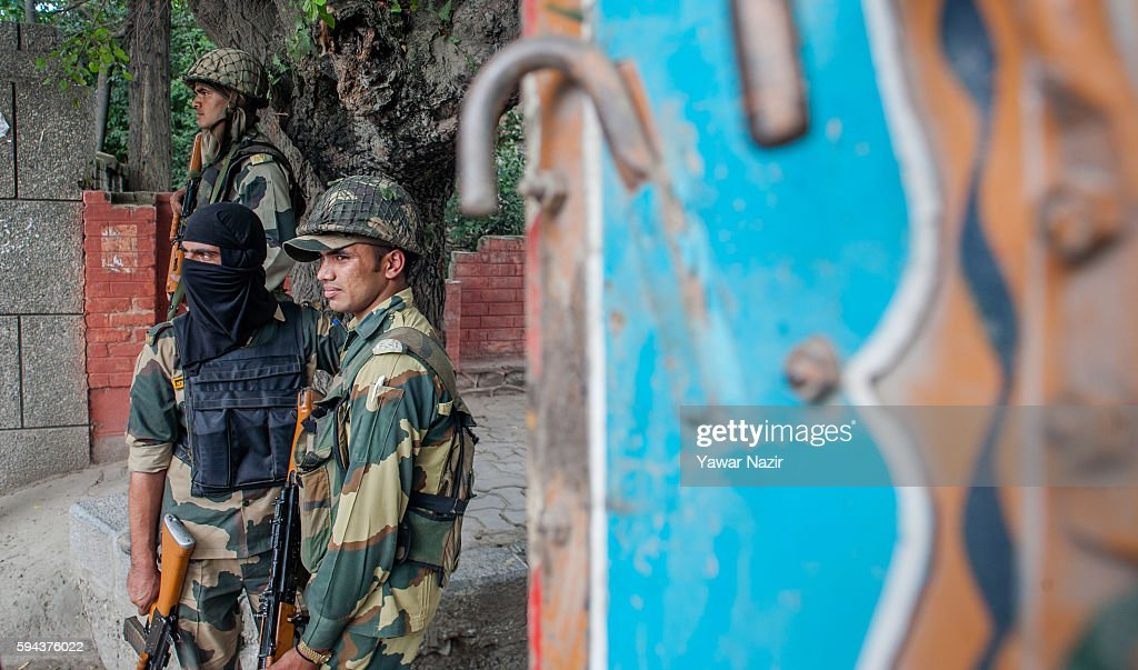 Tensions Continue In Kashmir As Death Toll Rises To 69 : News Photo