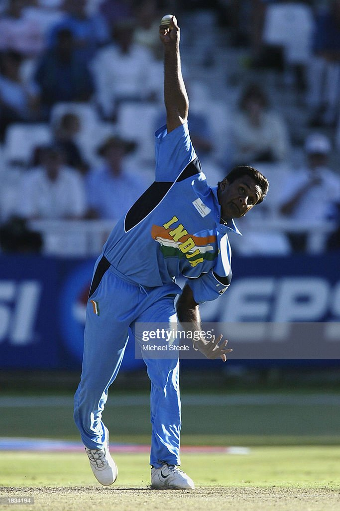 l Srinath in action : News Photo