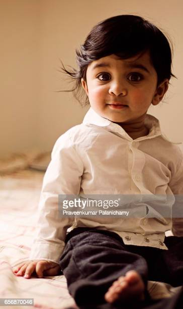 Indian Boy Child Playing