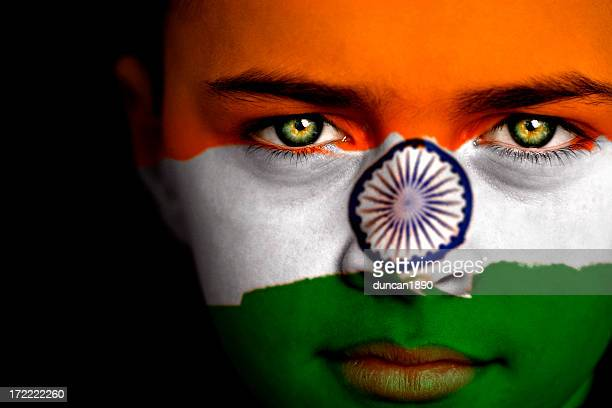 indian boy - indian flag stock pictures, royalty-free photos & images
