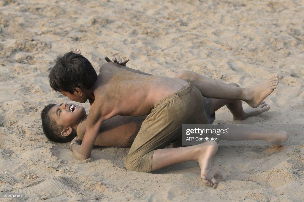 INDIA-SPORT-KUSHTI : News Photo