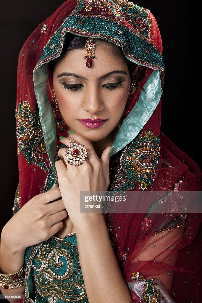 Indian bride : Stock Photo
