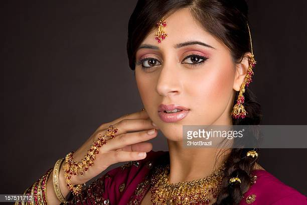 indian bride - indian bride stock photos and pictures