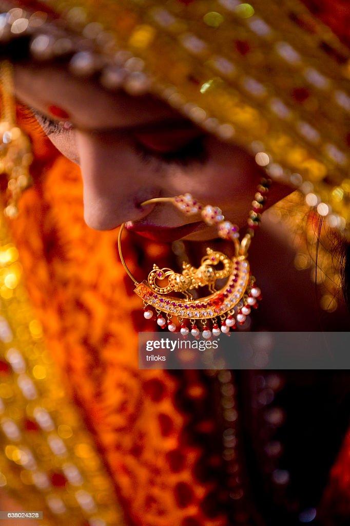 Indian bride : Stock Photo