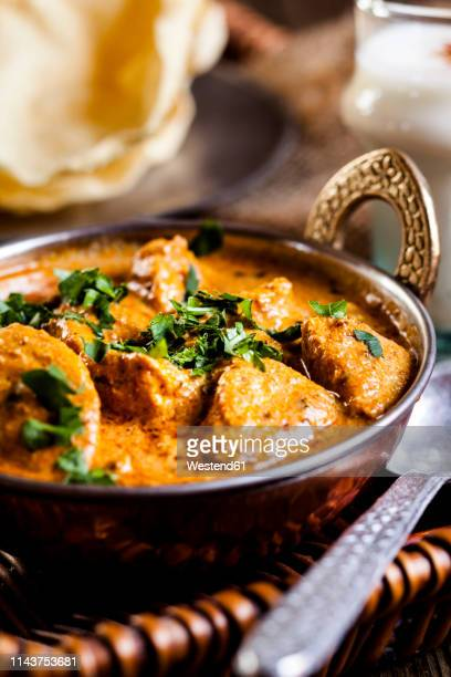 indian butter chicken - indian food stock pictures, royalty-free photos & images