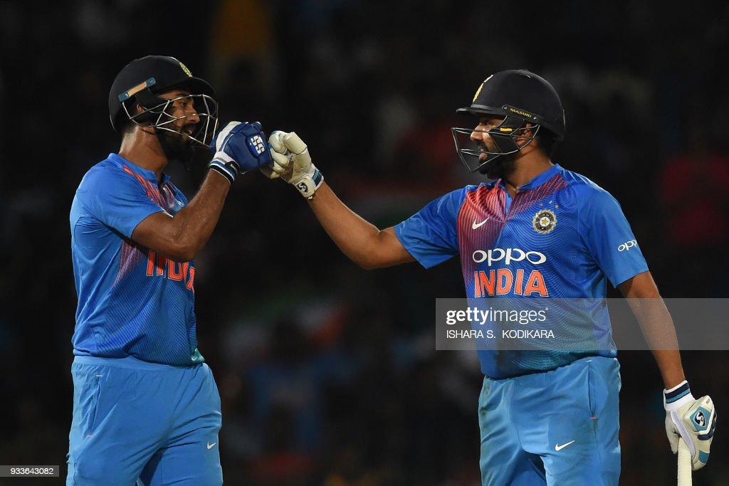 CRICKET-T20-NIDAHAS-IND-BAN : News Photo
