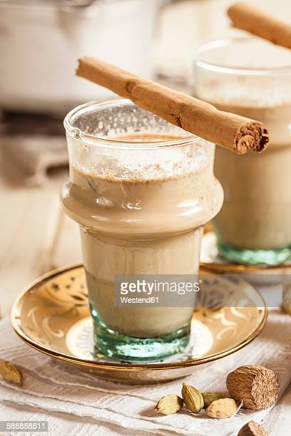 Indian chai with spices