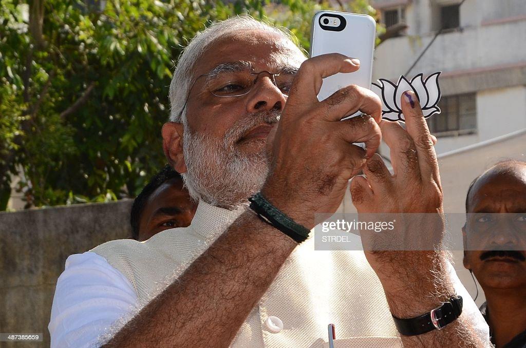 INDIA-ELECTION : News Photo