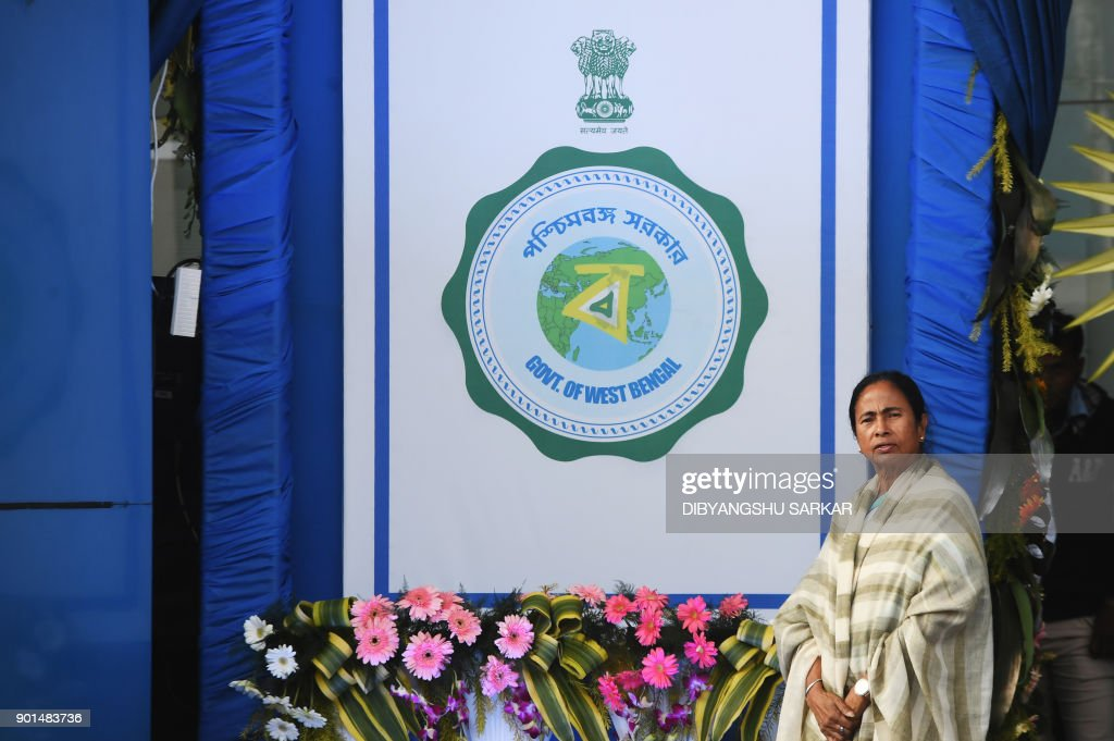 Indian Chief Minister Of The Eastern State Of West Bengal Mamata