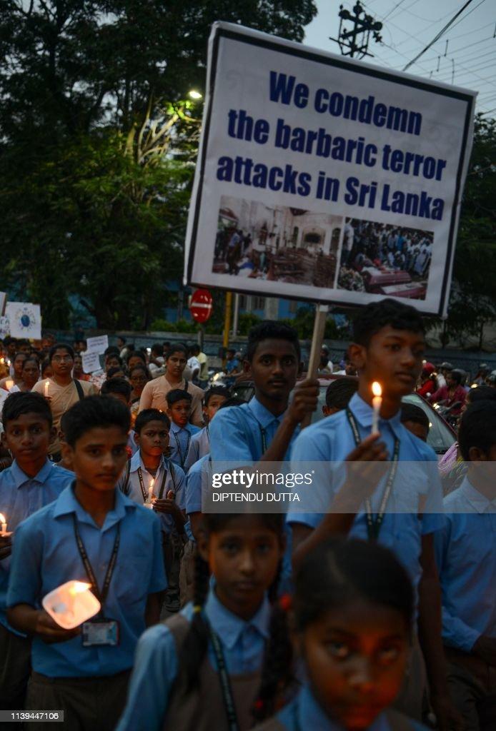 INDIA-SRI LANKA-ATTACKS : News Photo