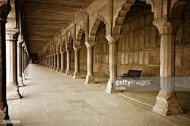 indian colonnade - ancient stock pictures, royalty-free photos & images