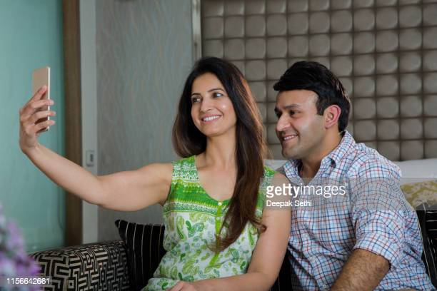 indian couple - stock images - beautiful wife pics stock pictures, royalty-free photos & images