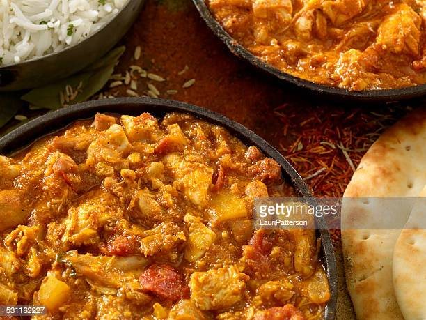 indian cousine - butter chicken stock photos and pictures