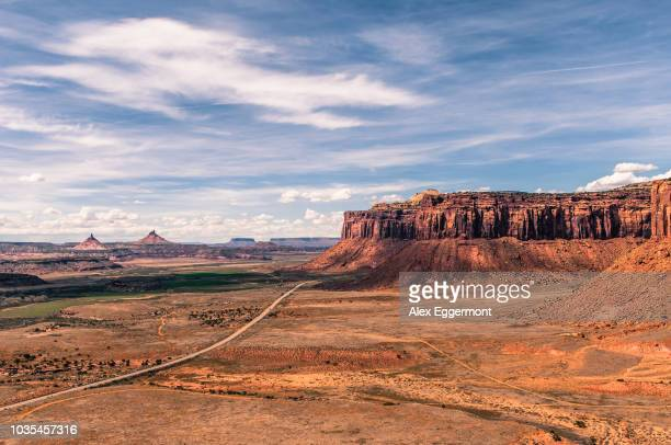 indian creek, moab, utah, usa - moab utah stock photos and pictures