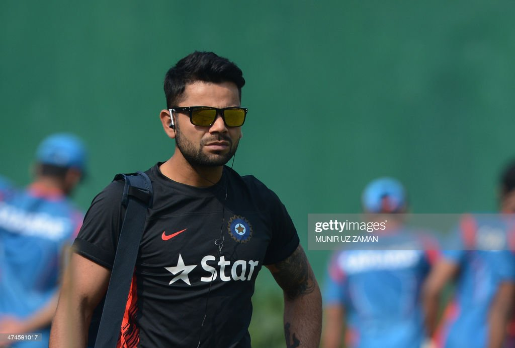 CRICKET-ASIA-IND-TRAINING : News Photo