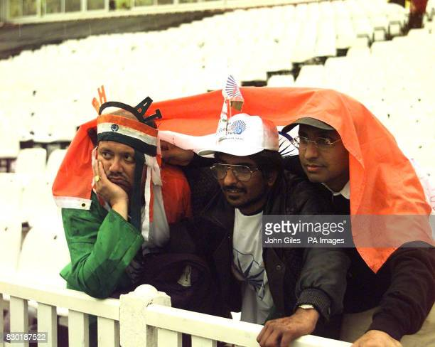 Indian cricket supporters were left disappointed after bad weather stopped the 1999 World Cup cricket match between England and India just as India...