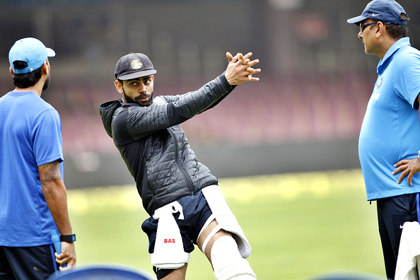 Indian And South African Cricket Teams Practice In Bengaluru : News Photo