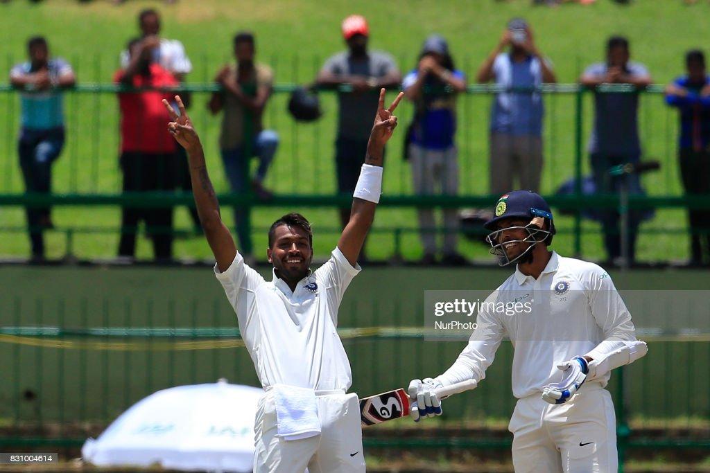 Sri Lanka v India - Cricket, 3rd Test - Day 2 : News Photo
