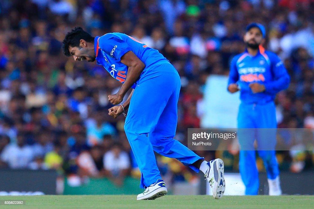 Sri Lanka v India - 1st One Day International cricket