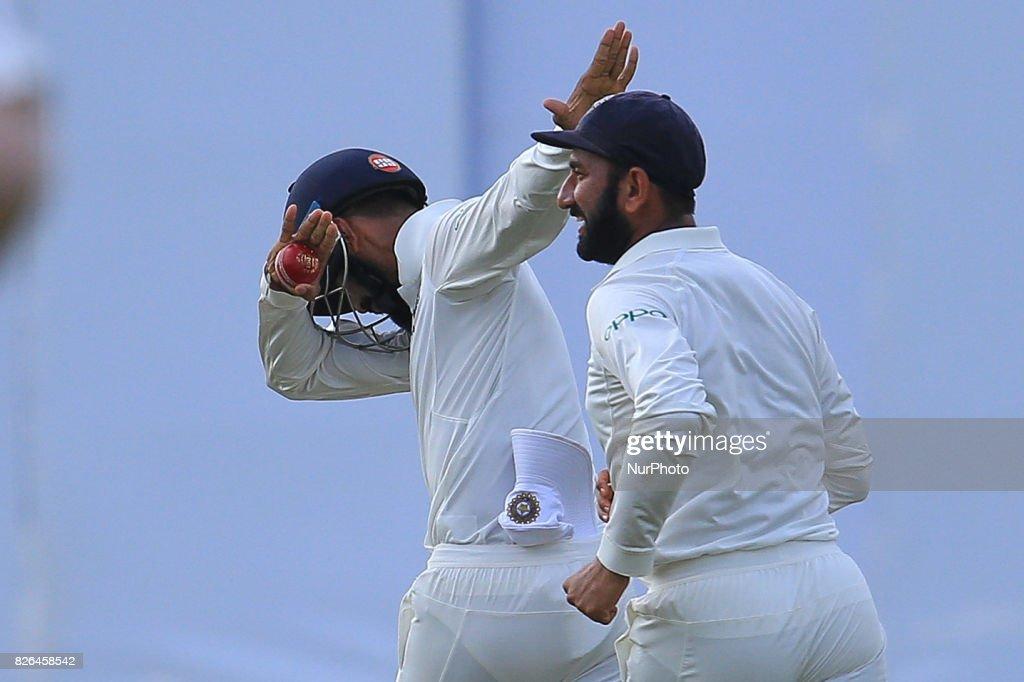Sri Lanka v India - Cricket 2nd Test