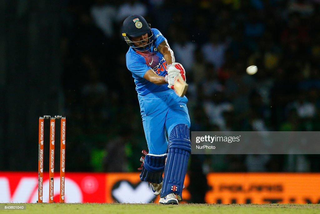 Sri Lanka v India - Cricket T20 : News Photo