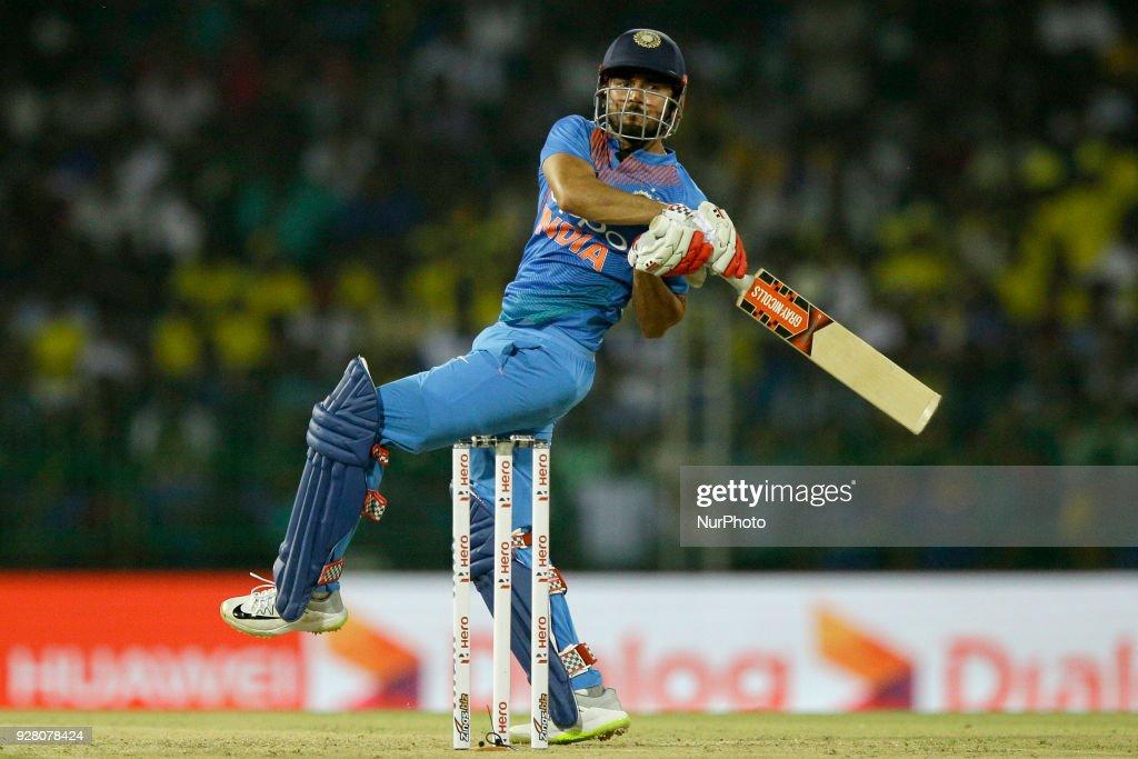 Sri Lanka v India - Twenty20 international cricket match in Colombo