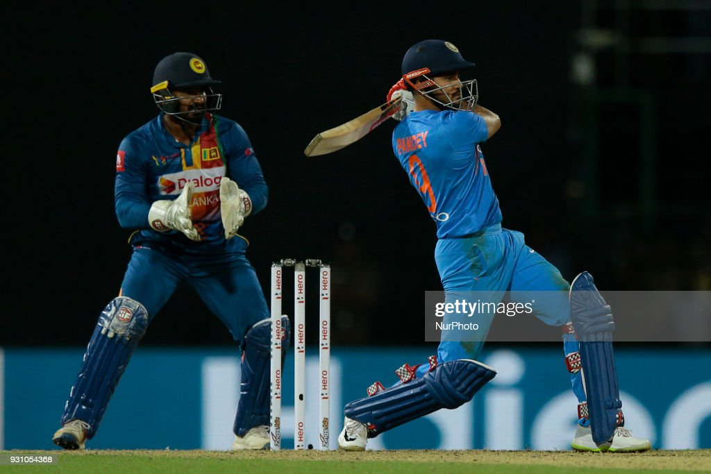 Sri Lanka v India - Twenty-20 cricket match