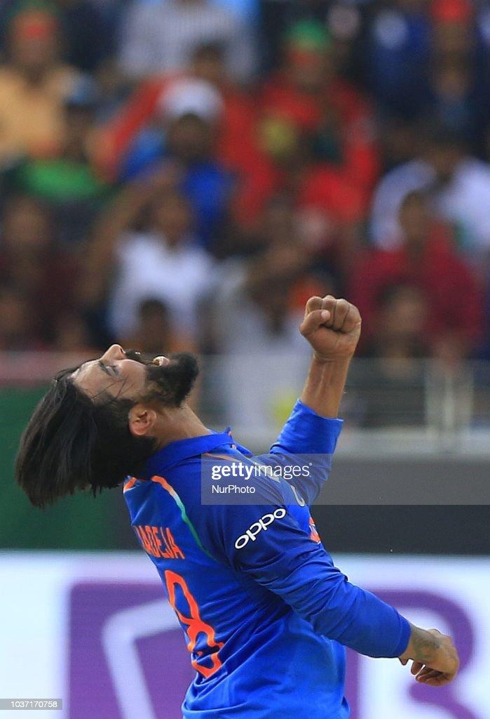 India v Bangladesh - Asia Cup 2018