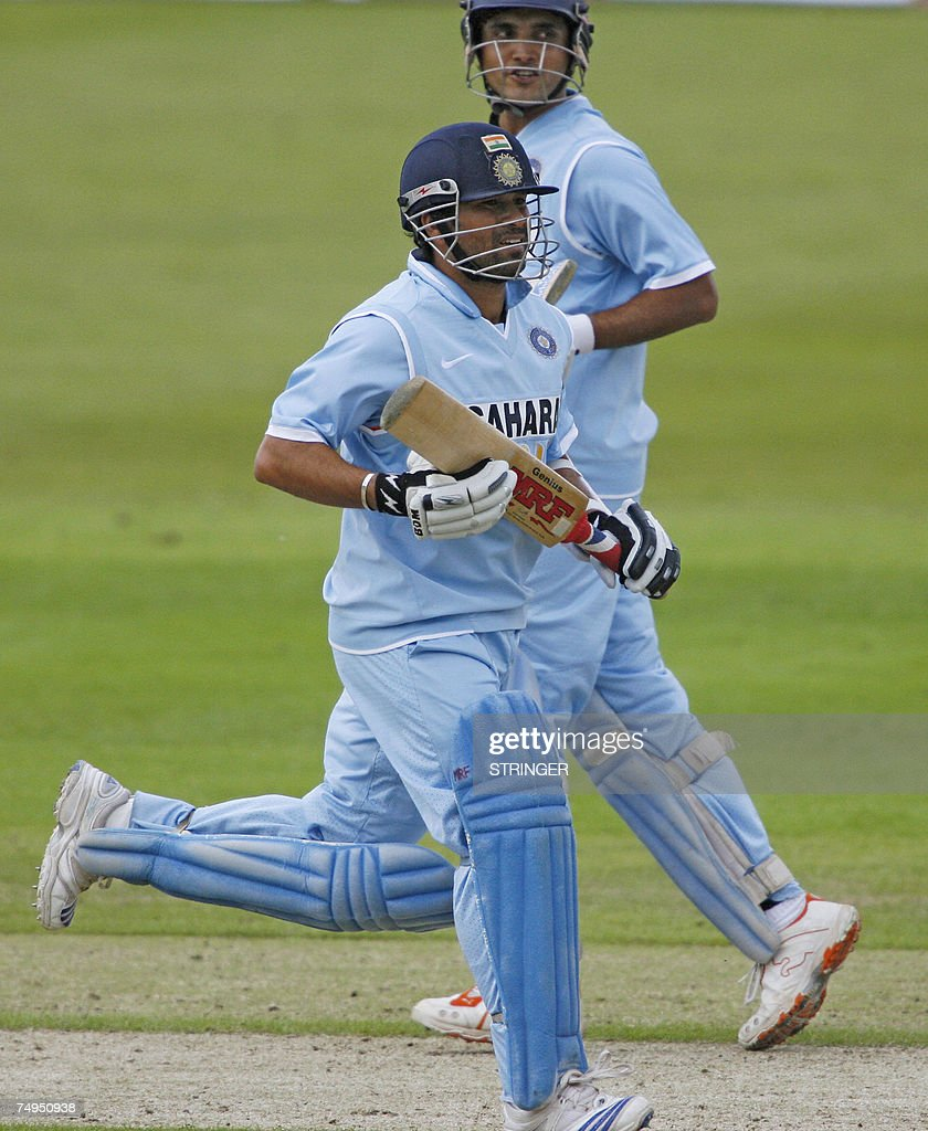 indian cricketer sachin tendulkar (l) an pictures   getty images
