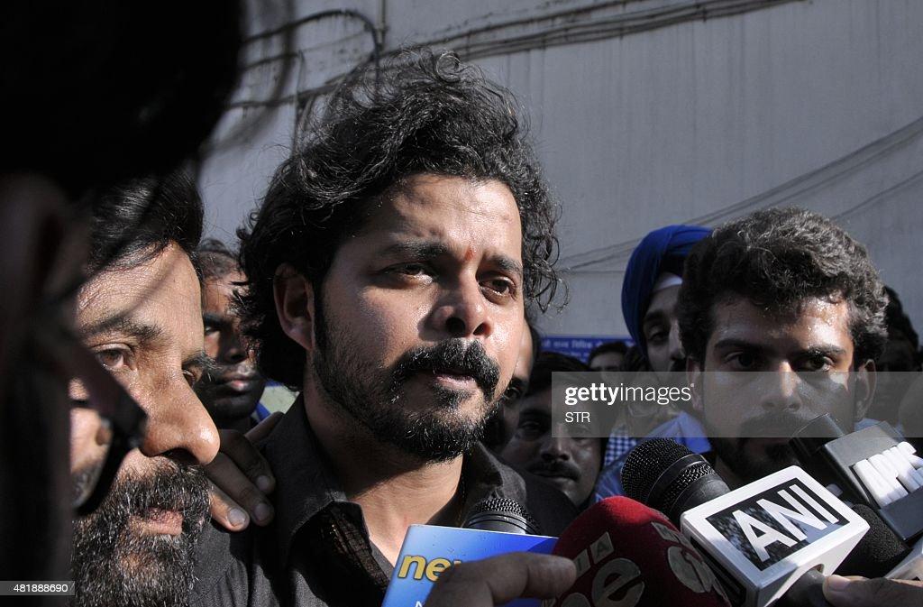 INDIA-CRICKET-CRIME-CORRUPTION-IPL : News Photo
