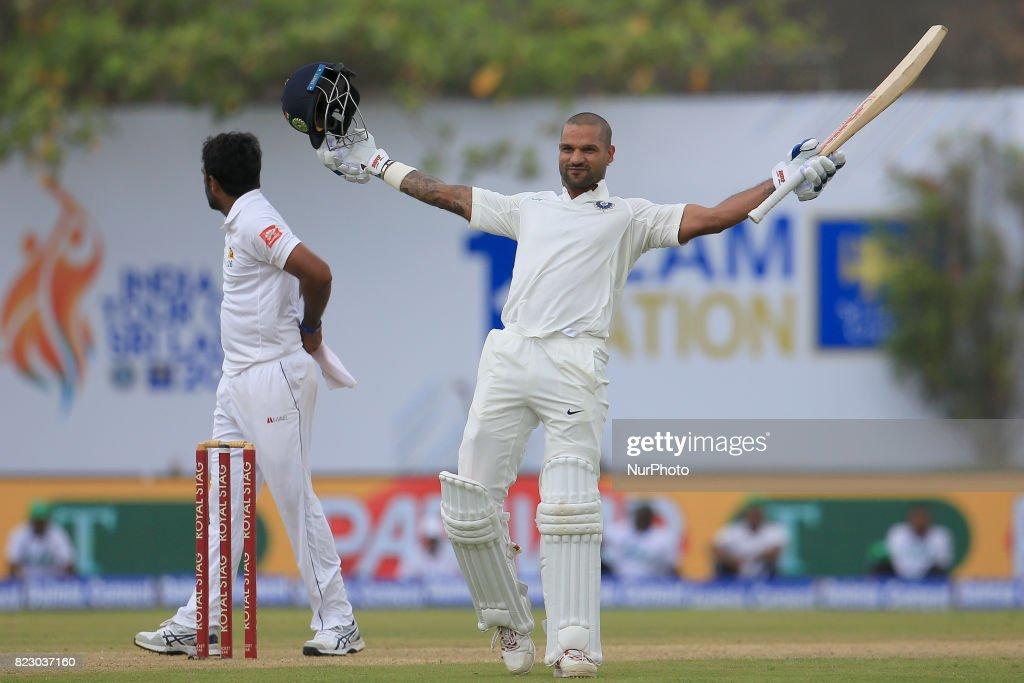 Sri Lanka v India - 1st Test Match : News Photo