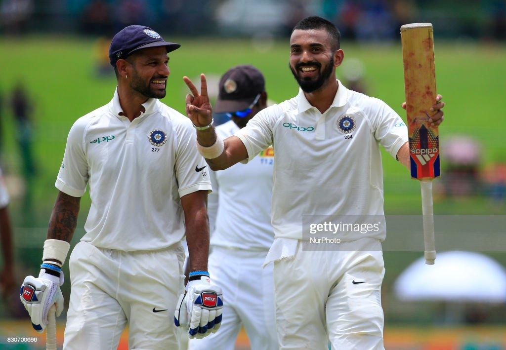 Sri Lanka v India - Cricket, 3rd Test - Day 1